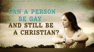 Can A Person Be Gay and Christian