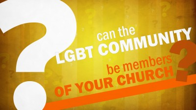 Can The LGBT Community Be Members Church