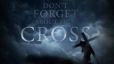 don't forget about the cross