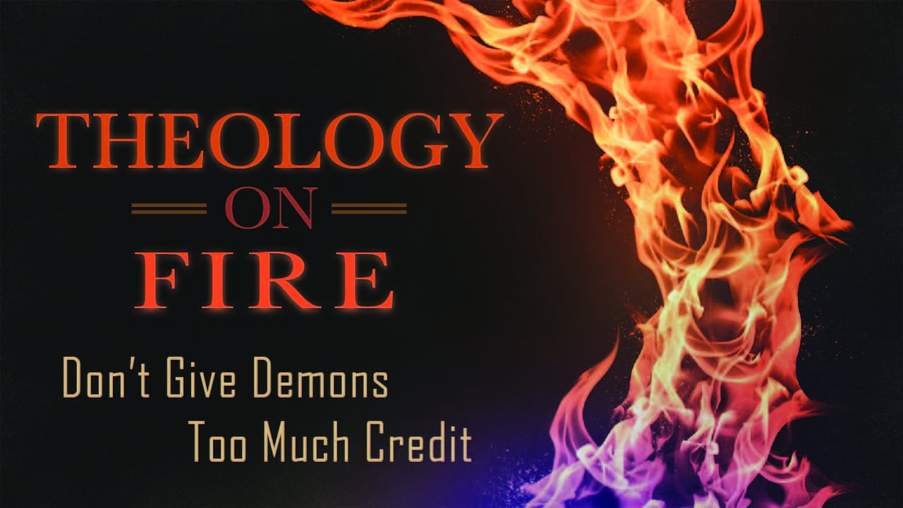 """4/29/18 """"DON'T GIVE DEMONS TOO MUCH CREDIT"""" – Pastor Shane Idleman"""