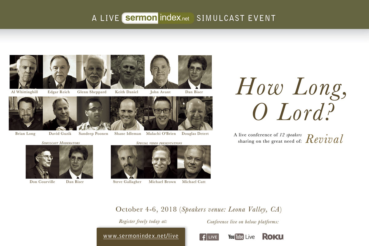 How Long, O Lord? A LIVE Sermon Index Simulcast Event